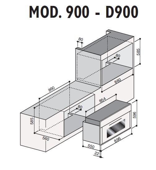 informationsseite h ttich ilve 900l vg einbau gasbackofen mit umluft. Black Bedroom Furniture Sets. Home Design Ideas