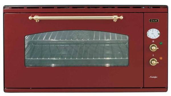 ilve 948n mp elektro einbau backofen 90cm nostalgie. Black Bedroom Furniture Sets. Home Design Ideas