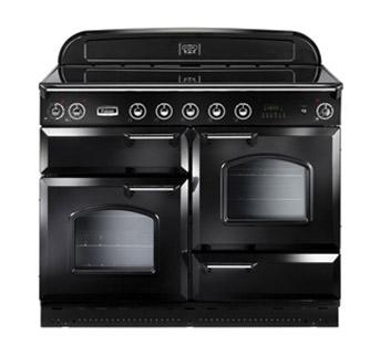 falcon classic 110 range cooker elektro standherd mit induktionskochfeld black. Black Bedroom Furniture Sets. Home Design Ideas