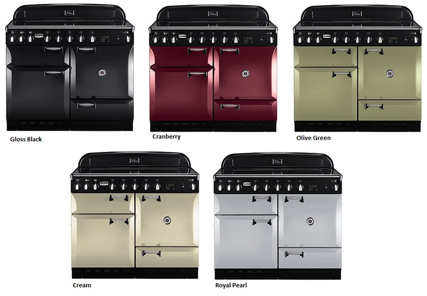 falcon elan 110 range cooker elektro standherd mit induktionskochfeld cream. Black Bedroom Furniture Sets. Home Design Ideas