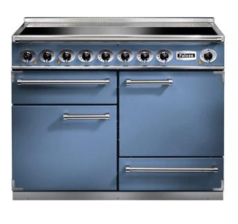 Falcon 1092 Deluxe Range Cooker, Induktionskochfeld, Chinablau/ Energieeffizienzklasse A