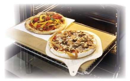 Ilve A/418/00 Pizzaplatte für Standard-Backofen 60