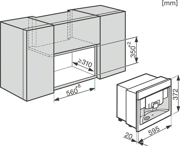 informationsseite h ttich miele cva6431 einbau. Black Bedroom Furniture Sets. Home Design Ideas