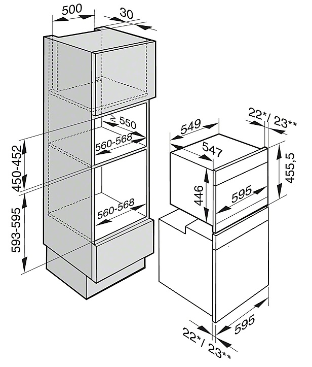 informationsseite h ttich miele dgc6300 einbau dampfgarer backofen. Black Bedroom Furniture Sets. Home Design Ideas