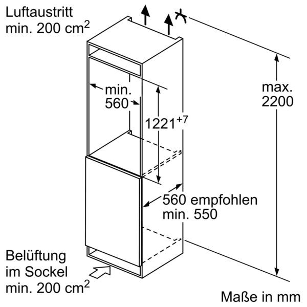 Informationsseite Huttich Bosch Kil42ad40 Einbau Kuhlschrank