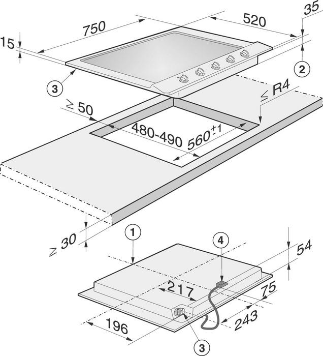 informationsseite h ttich miele km 2034 gaskochfeld. Black Bedroom Furniture Sets. Home Design Ideas