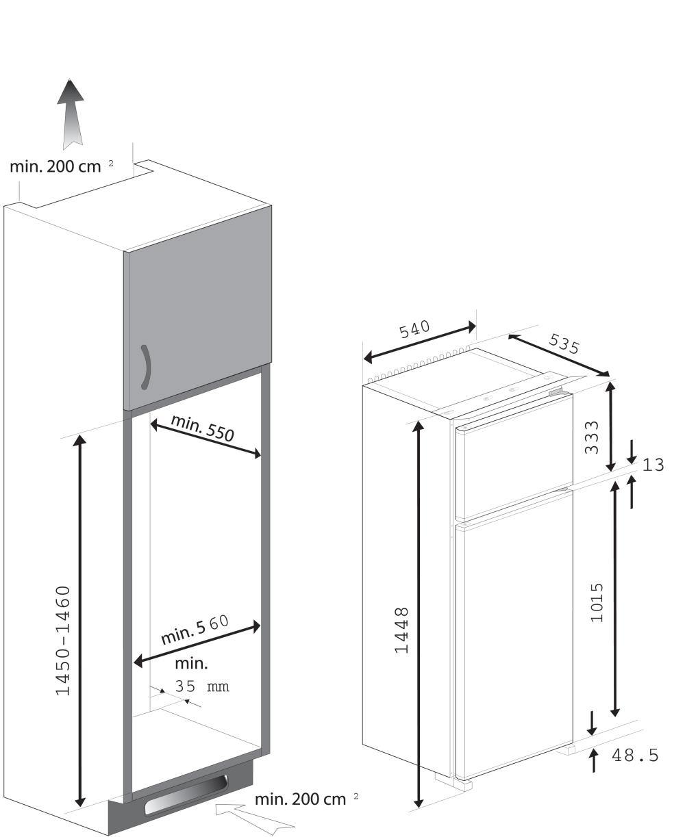 informationsseite h ttich beko rbi 6301 einbau k hl. Black Bedroom Furniture Sets. Home Design Ideas