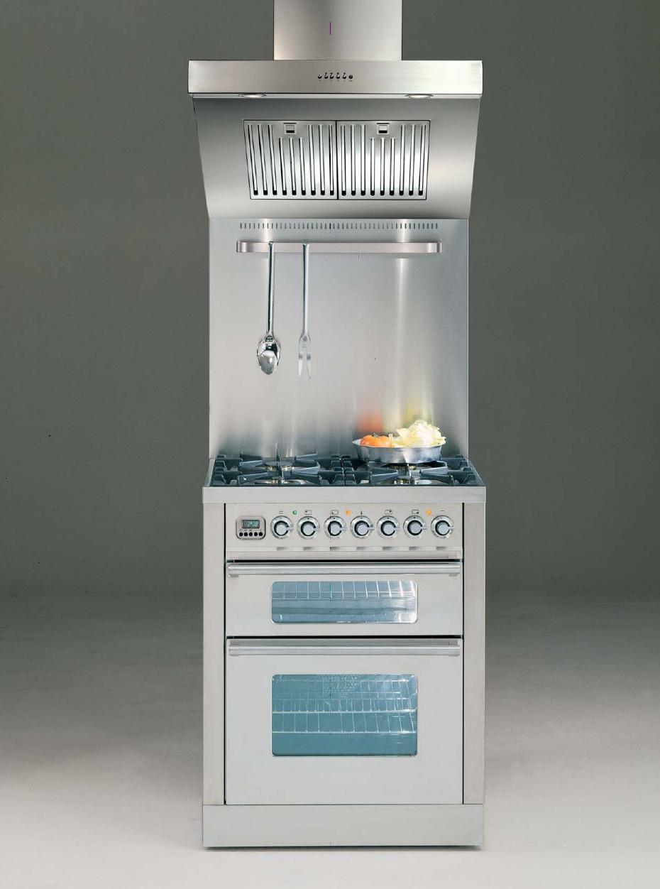ILVE PDW-70-MP Professional Plus Gasherd, Elektrobackofen