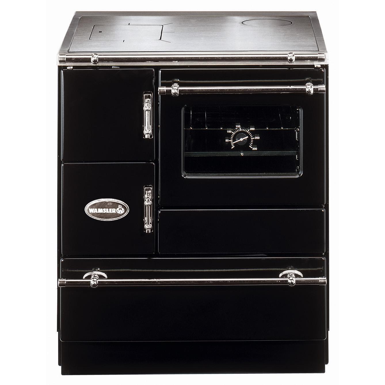 Wamsler K128 CL Küchenherd, schwarz, Stahl, Creative-Line, Energieeffizienzklasse A
