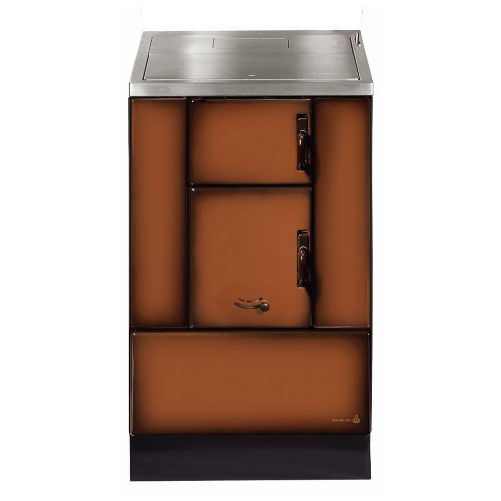 Wamsler K150 S Küchenherd/ Beistellherd, Maron, Stahl, Energieeffizienzklasse A