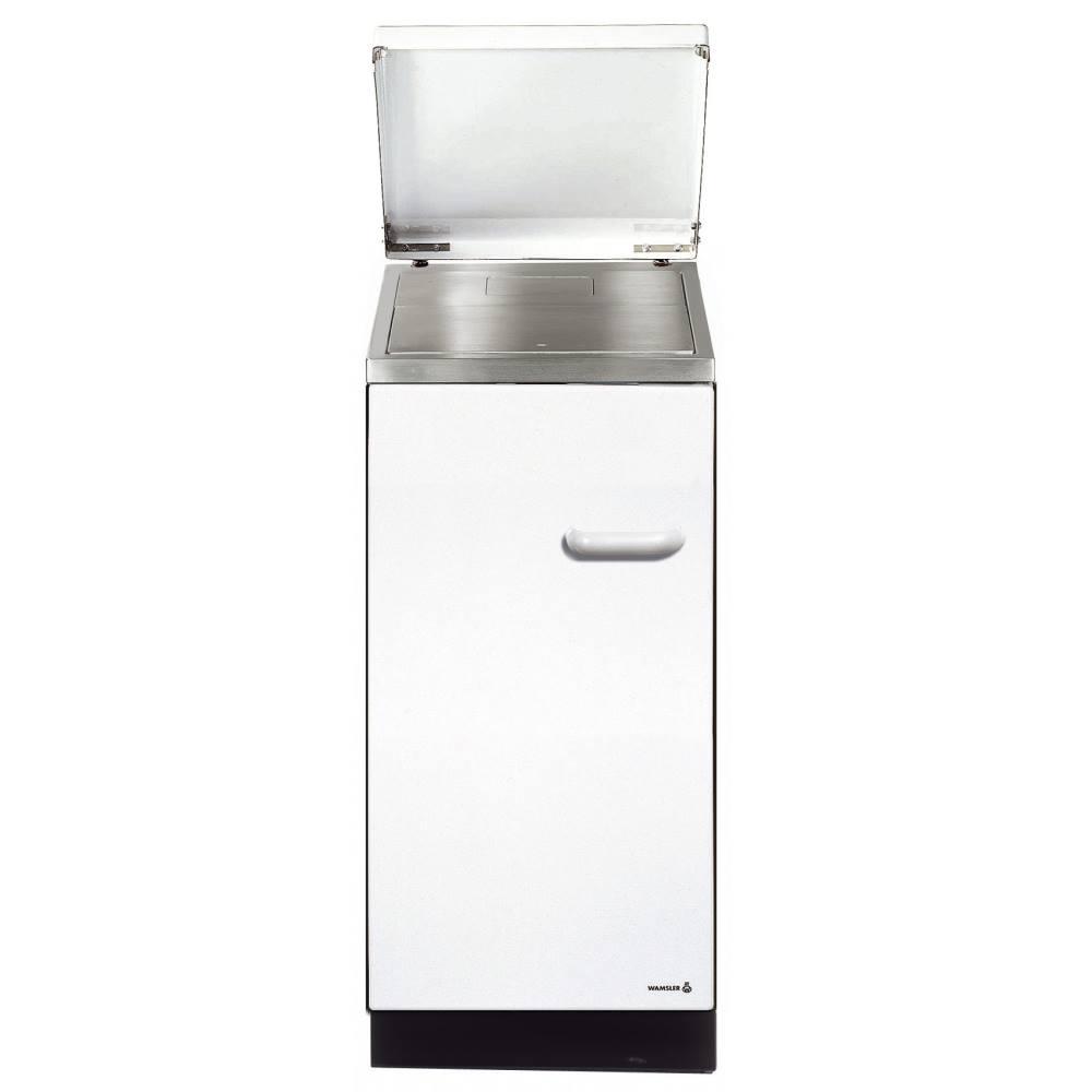 Wamsler K144 S Küchenherd/ Beistellherd, Weiß, Stahl, Energieeffizienzklasse A