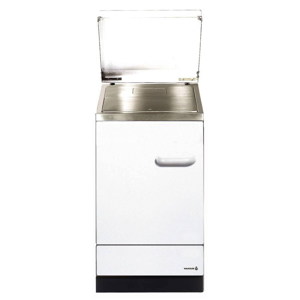 Wamsler K155 S Küchenherd/Beistellherd, Weiß, Stahl, Energieeffizienzklasse A