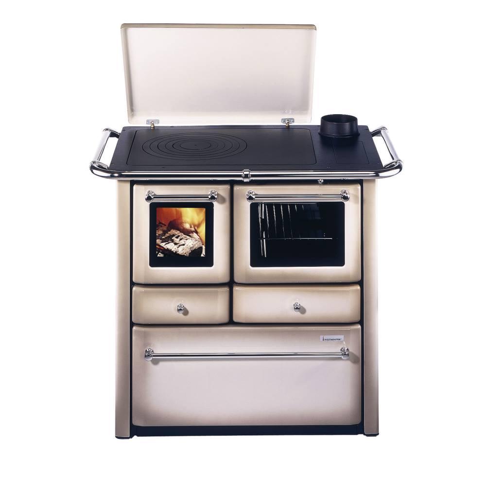 Wamsler K185F/A Cappuccino Westminster Landhausherd/Küchenherd, Energieeffizienzklasse A