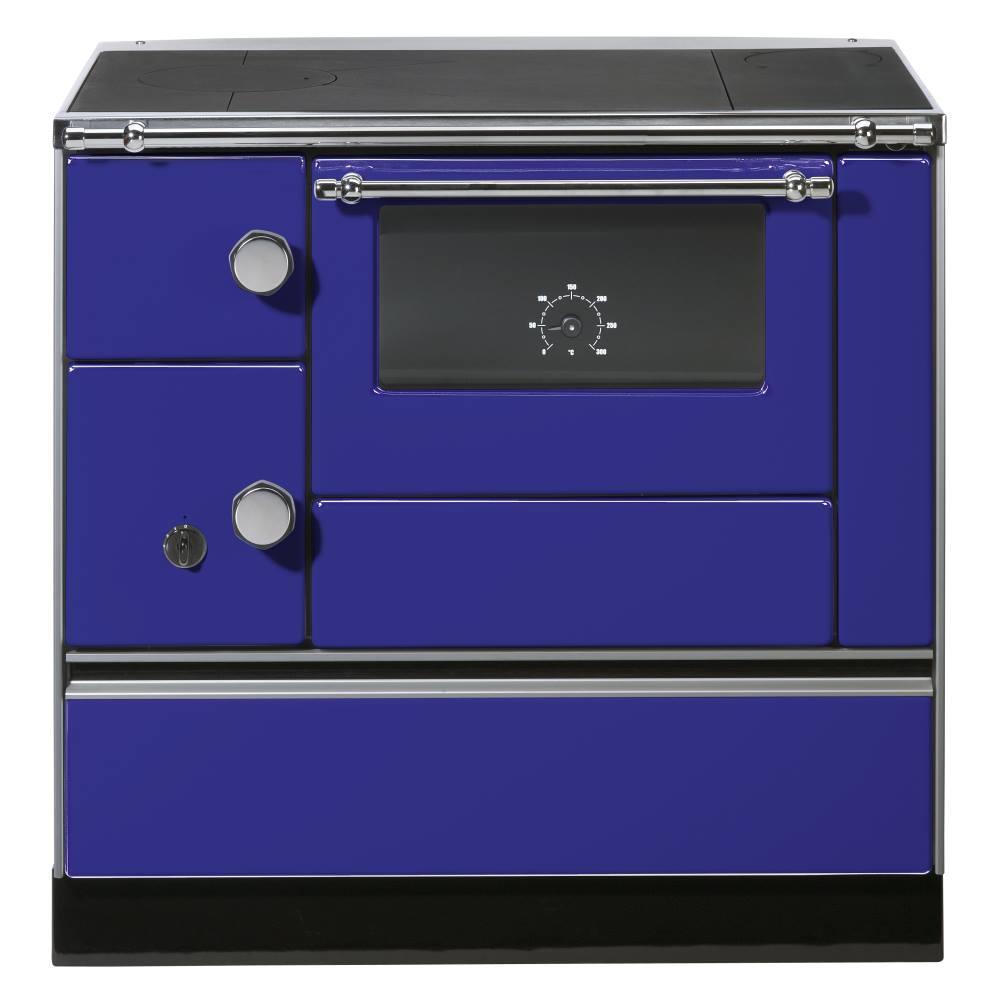 Wamsler K176A/90 Blau Westminster Landhausherd/Küchenherd, Energieeffizienzklasse A