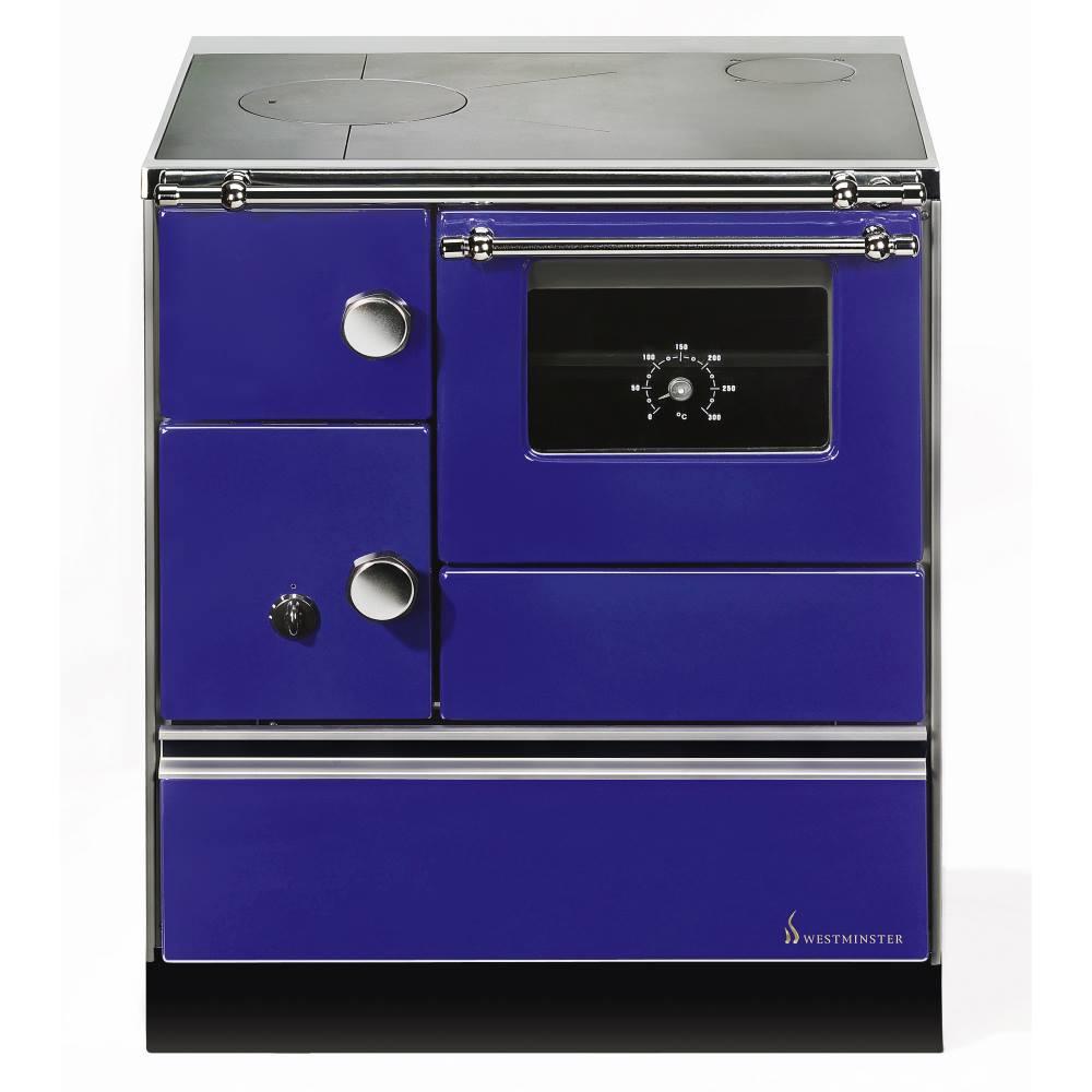 Wamsler K176A Blau, Westminster Landhausherd/Küchenherd, Energieeffizienzklasse A