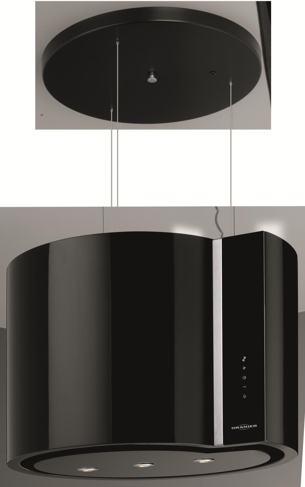 Oranier LindiaIsola 60 S 8789 25 Insel-Dunstabzugshaube/ Energieeffizienzklasse B
