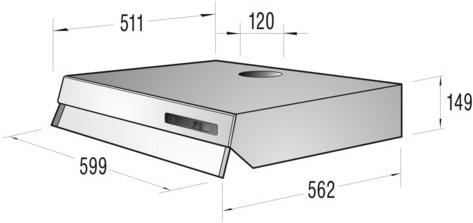 informationsseite h ttich gorenje du6111e unterbau dunstabzugshaube energieeffizienzklasse e. Black Bedroom Furniture Sets. Home Design Ideas