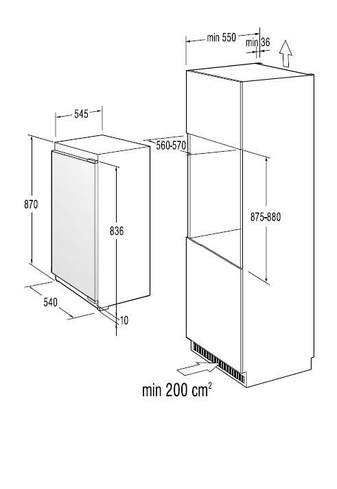 informationsseite h ttich gorenje fi5092aw einbau gefrierschrank energieeffizienzklasse a. Black Bedroom Furniture Sets. Home Design Ideas