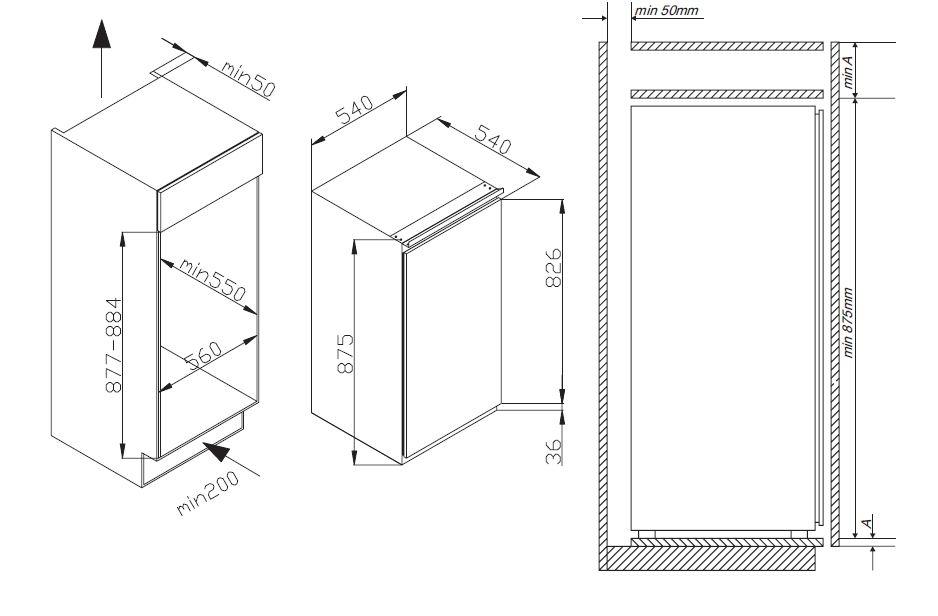 informationsseite h ttich amica egs16183 einbau gefrierschrank energieeffizienzklasse a. Black Bedroom Furniture Sets. Home Design Ideas