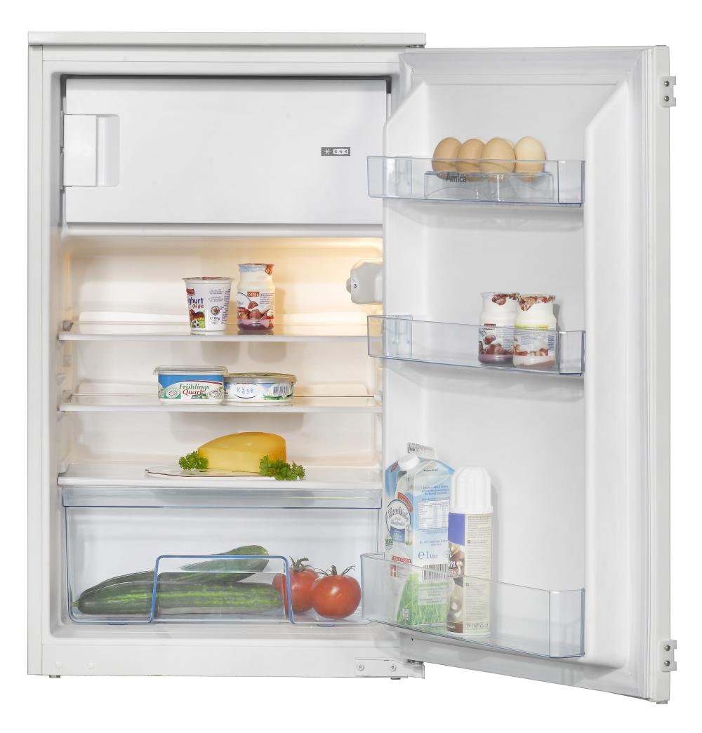 Amica EKS 16171 Einbau-Kühlschrank mit Gefrierfach/ Energieeffizienzklasse A++