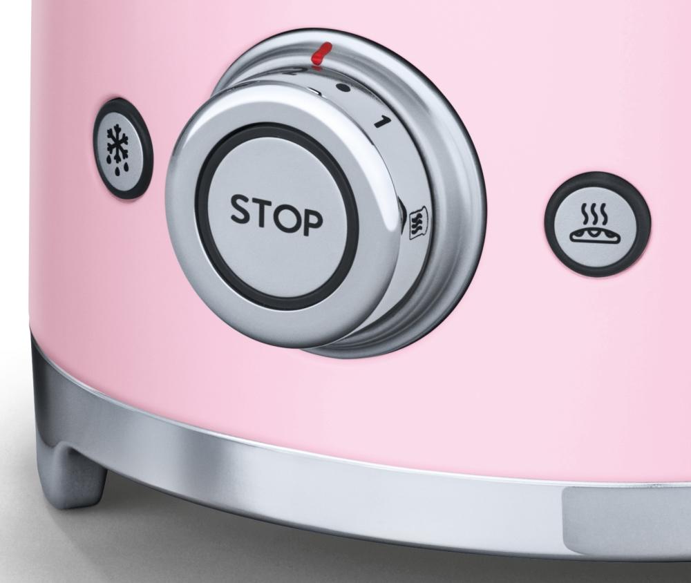 informationsseite h ttich smeg tsf01pkeu toaster 2 scheiben cadillac pink. Black Bedroom Furniture Sets. Home Design Ideas