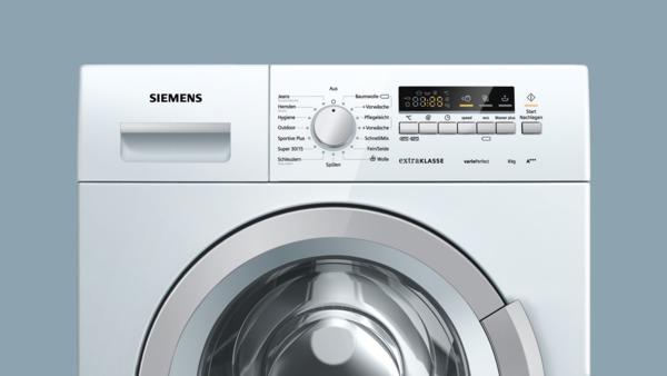 informationsseite h ttich siemens wm14k29a waschmaschine eek a spektrum a bis d. Black Bedroom Furniture Sets. Home Design Ideas
