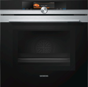 Siemens HM678G4S1 Elektro-Einbaubackofen mit Mikrowelle Edelstahl