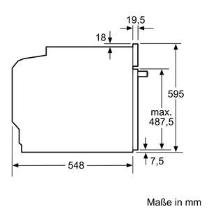 siemens hm678g4s1 elektro einbaubackofen mit mikrowelle edelstahl. Black Bedroom Furniture Sets. Home Design Ideas