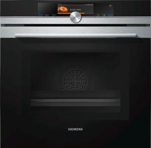 Siemens HN678G4S6 Elektro-Enbaubackofen mit Mikrowelle und Dampfstoß-Funktion
