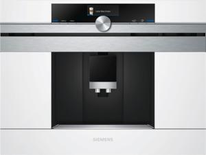 Siemens CT636LEW1 Kaffeevollautomat mit TFT-Display, Weiß