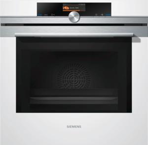 Siemens HM676G0W1 Backofen mit Mikrowelle, Weiß