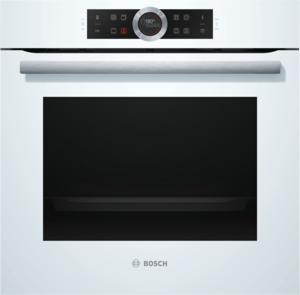 Bosch HBG675BW1 Elektro-Einbaubackofen Polar Weiß, Energieeffizienzklasse A+