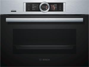 Bosch CSG656RS6 Kompaktbackofen mit Dampffunkt., Edelstahl, Energieeffizienzklasse A+