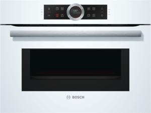 Bosch CMG633BW1 Kompaktbackofen mit Mikrowelle Polar Weiß