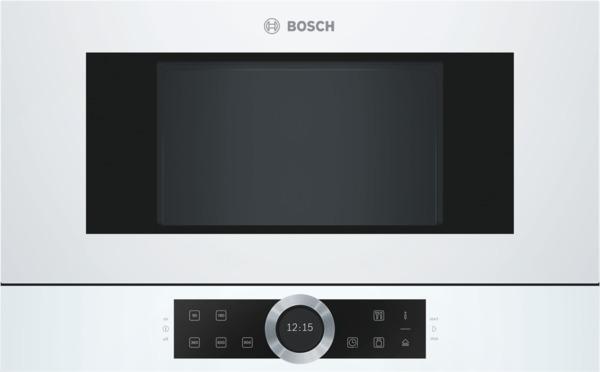 Bosch BFR634GW1 Einbaumikrowelle, Polar Weiß