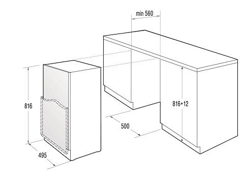 informationsseite h ttich gorenje ru5004 a unterbau k hlschrank energieeffizienzklasse a. Black Bedroom Furniture Sets. Home Design Ideas