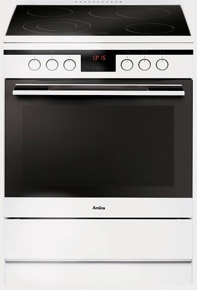 Amica SHC11685W Elektro-Standherd/ Energieeffizienzklasse A