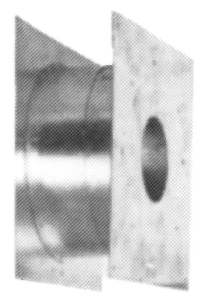 Oranier Teleskop-Holzwanddurchführung 900132