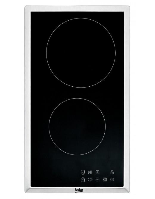 Beko HDMC32400TX Domino-Glaskeramik-Kochfeld