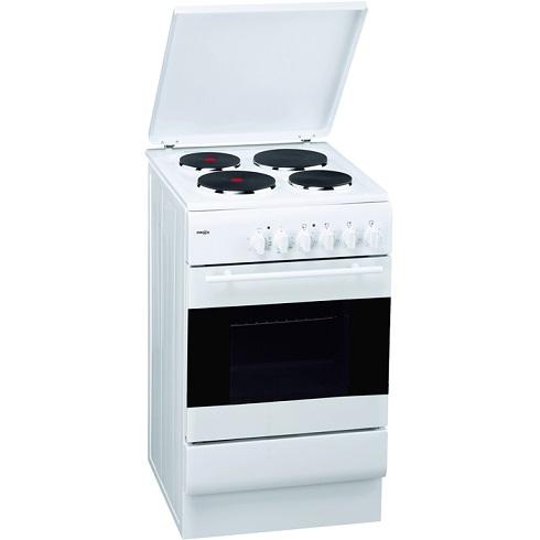 Emax SEH505K Elektro-Standherd mit Plattenkochfeld/ Energieeffizienzklasse A