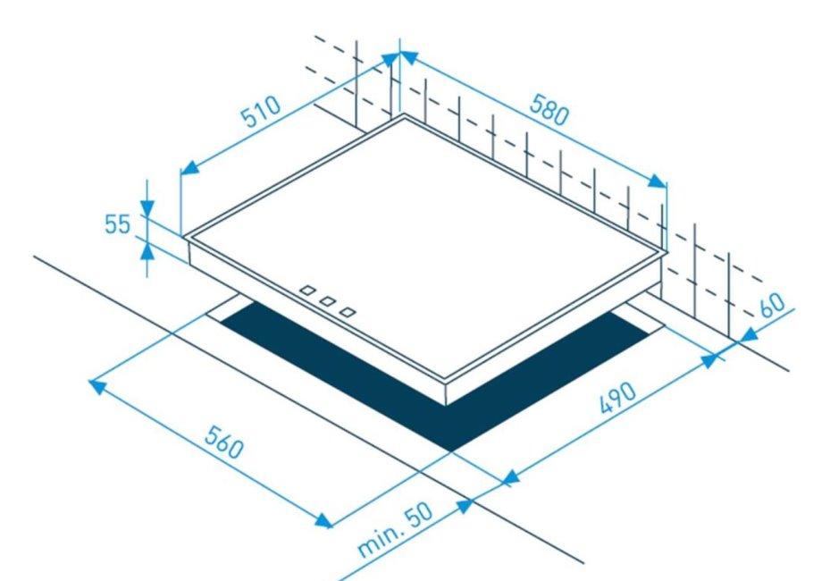 grundig edition 70 herdset energieeffizienzklasse a. Black Bedroom Furniture Sets. Home Design Ideas