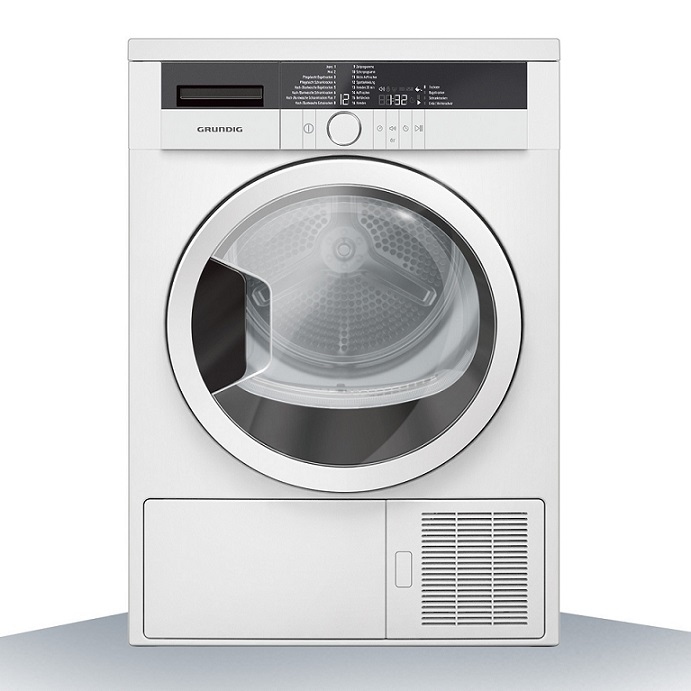 Grundig Edition 70 Kondenstrockner  Wärmepumpentechnologie/ Energieeffizienzklasse A++