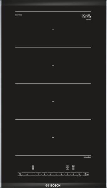 Bosch PXX375FB1E Domino Induktions-Kochstelle Glaskeramik