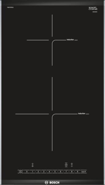 Bosch PIB375FB1E Domino  Induktions-Kochstelle Glaskeramik