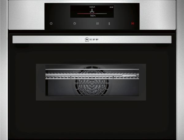 neff cmt2623n c26mt23n0 kompakt einbaubackofen mit mikrowelle. Black Bedroom Furniture Sets. Home Design Ideas