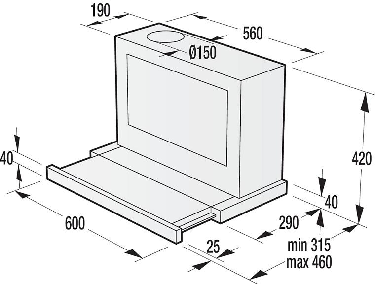 informationsseite h ttich gorenje bhp643a5bg flachschirm dunstabzugshaube. Black Bedroom Furniture Sets. Home Design Ideas