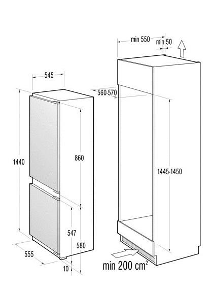 gorenje rki5151aw k hl gefrierkombination energieeffizienzklasse a. Black Bedroom Furniture Sets. Home Design Ideas