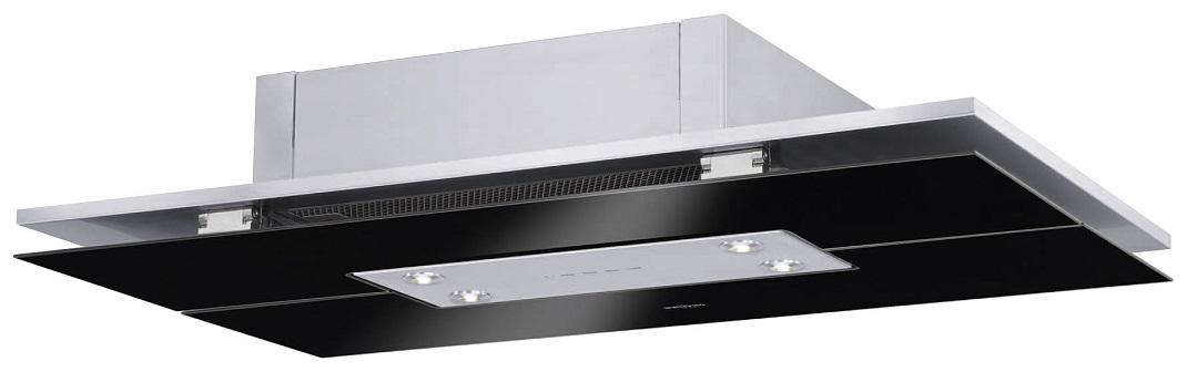 Oranier Quadra 868621 schwarz Deckenhaube/ nur Umluftbetrieb