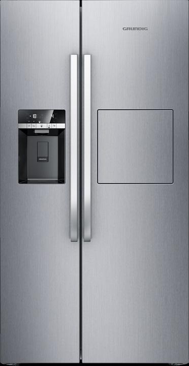 Grundig GSBS 14621 FX Side by Side Kühl-Gefrierkombination/ Energieeffizienzklasse A++