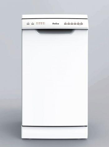 Amica GSP 14544 W Stand-Geschirrspüler/ Energieeffizienzklasse A++